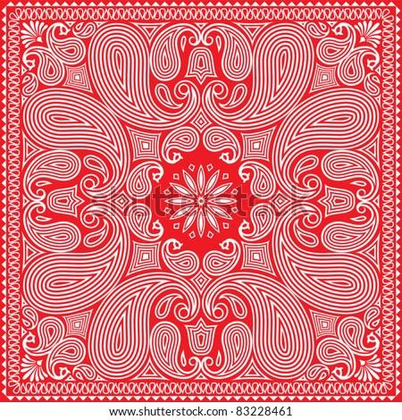 Red Bandana Design