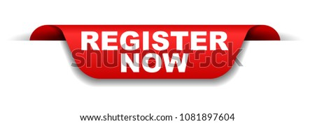 red banner register now
