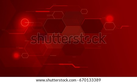 red beehive tech background