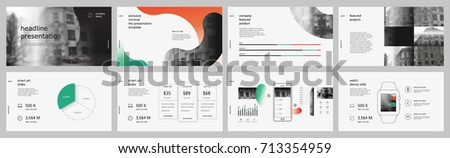 Red, Black, Green elements for infographics on a white background. Presentation templates. Use in presentation, flyer and leaflet, corporate report, marketing, advertising, annual report, banner.