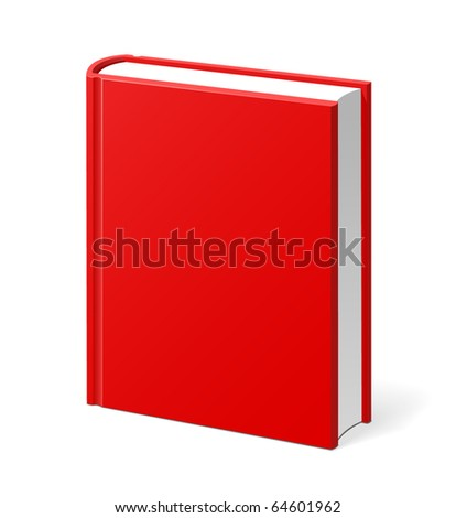 red book isolated hi quality