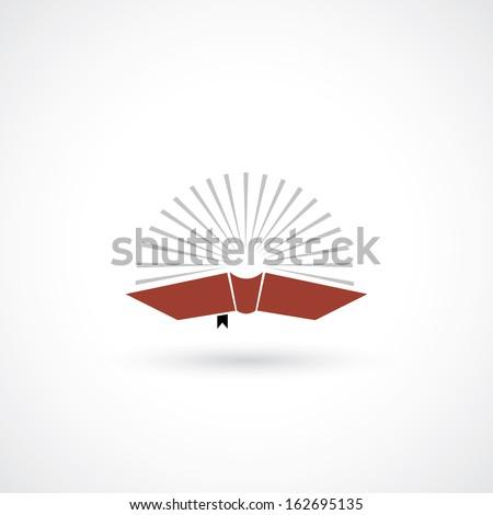 red book symbol   vector