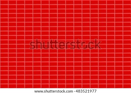 red brick wall in bathroom tile