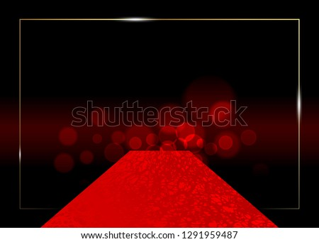 red carpet vector background