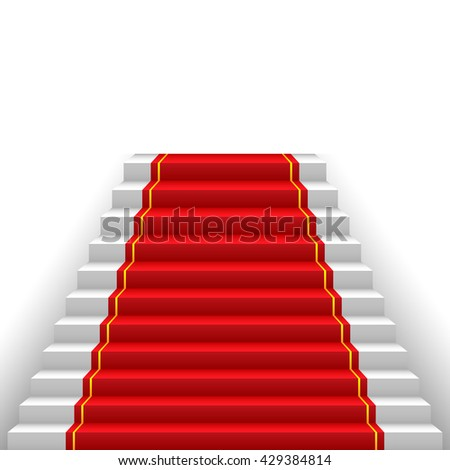 red carpet  way to success