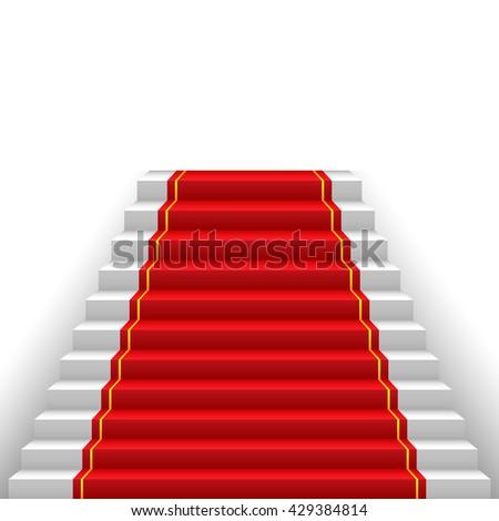 red carpet  way to success