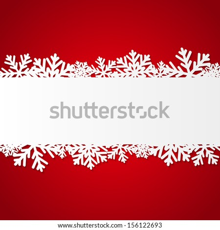 red christmas background with