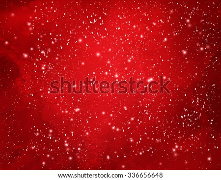 red christmas watercolor grunge