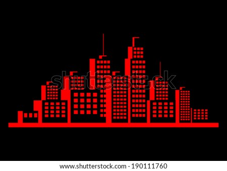 red city icon