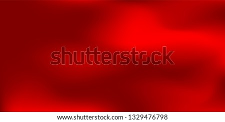 Red cloudy gradient. Sunset sky background. Simple dark gradient pattern. Bright bloody blank backdrop. Light soft lovely gradient. Futuristic red sexy gradient illustration. Red tone.