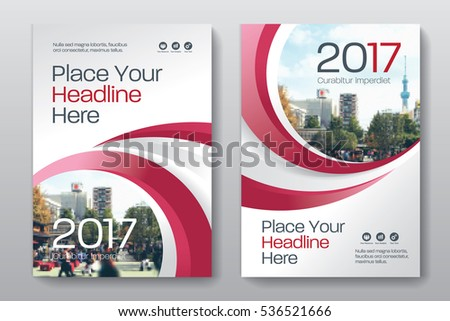 Blue Magazine Cover Template Download Free Vector Art Stock