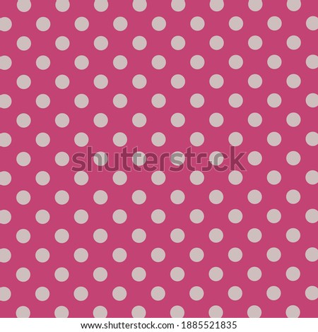 Red Colorful Circles Pattern Vector Design