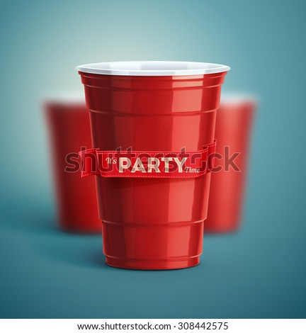 Red cups, it\'s party time, eps 10