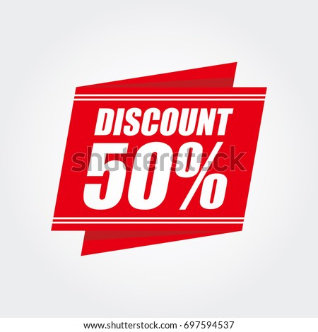 Red discount 50%