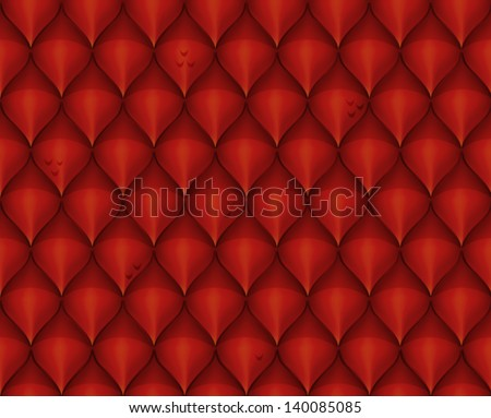 Red dragon scale textured background