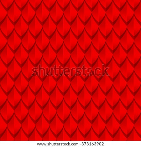 red dragon scales seamless