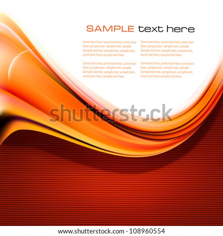 Red elegant abstract background illustration. Vector