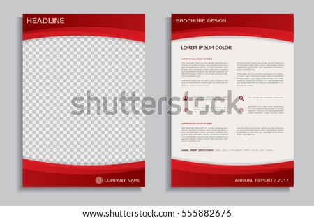 Modern Red Business Flyer Poster Design Template Download Free