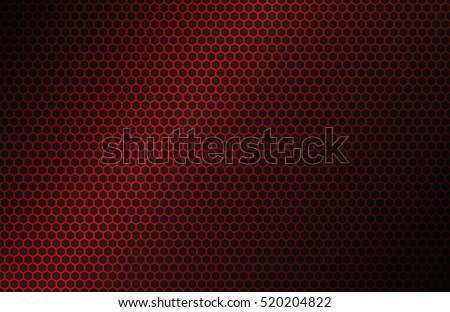 stock-vector-red-geometric-polygons-background-hexagon-symbol-abstract-black-metallic-wallpaper-vector