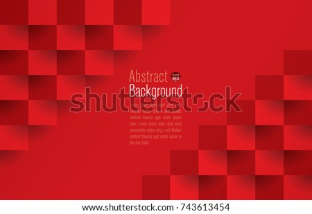 red geometric texture abstract