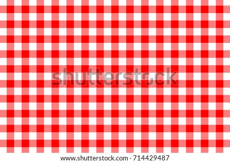 red gingham seamless pattern