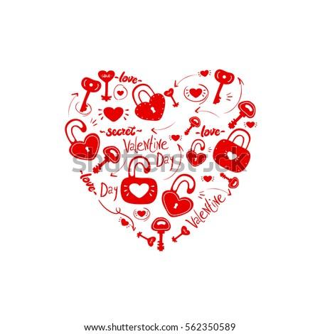 red heart set fine details