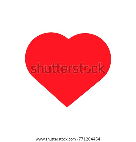red heart, Vector icon Heart Icon Vector / heart icon /heart - Vector icon