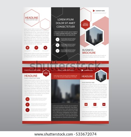 creative business trifold brochure design template download free