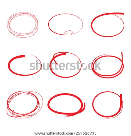 how to draw circle using marker