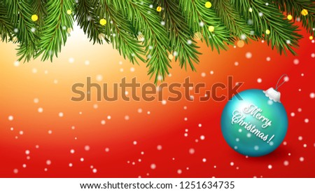 red horizontal background for
