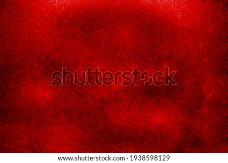 Red  in grunge style for portraits, posters. Grunge textures backgrounds. Abstract grunge cracked concrete wall.