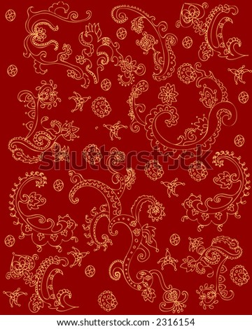 red indian texture