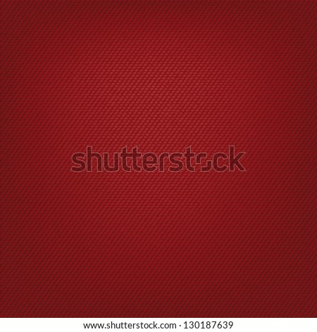 Red jeans background. Vector illustration