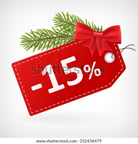 red leather price christmas