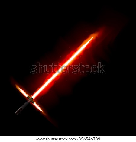 red light future sword from