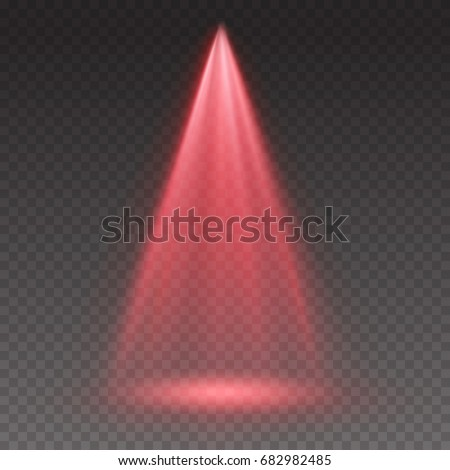 red light scanner or laser