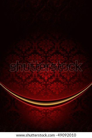 Red Luxury Background, vector