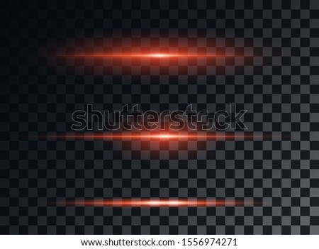 red neon stripes or light flash
