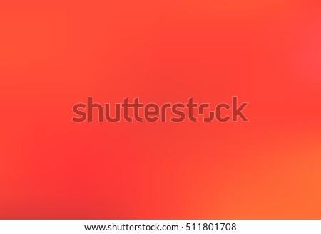 red orange blurred background