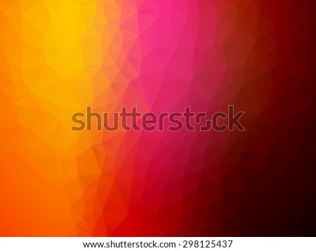 red pink yellow background