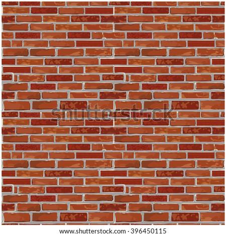 Vector Brick Wall Texture - Download Free Vector Art, Stock