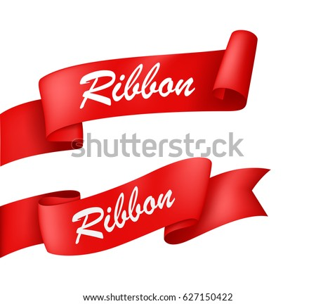 Red Ribbon banner #627150422