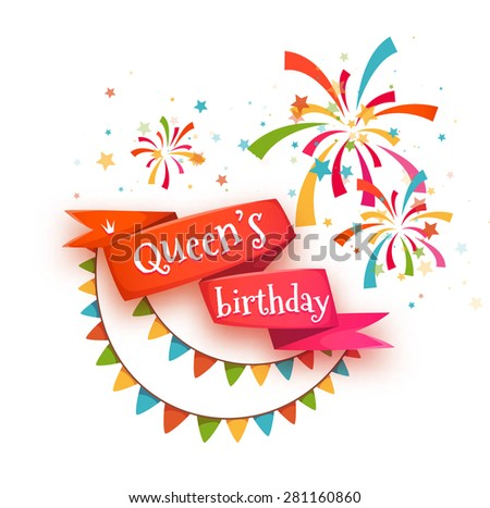 Free Birthday Celebration Vector Background Download Free Vector