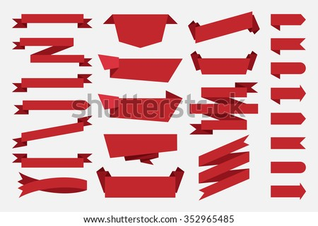free red ribbon vector download free vector art stock graphics