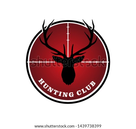 Stag Head Logo Vector Illustration - Download Free Vector Art, Stock