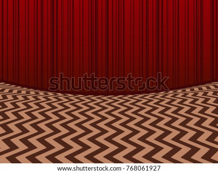 red room horisontal background