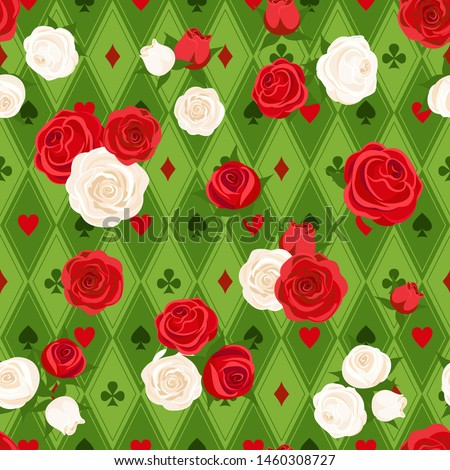 red roses and white roses on