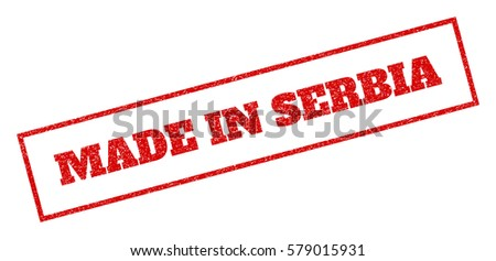red rubber seal stamp with made