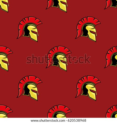 red seamless pattern with