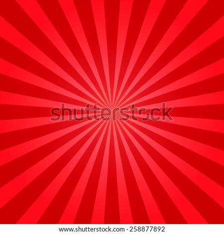 red shiny starburst background